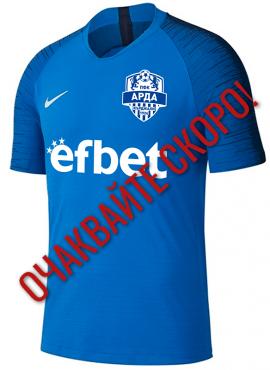 Синя мачова официална тениска